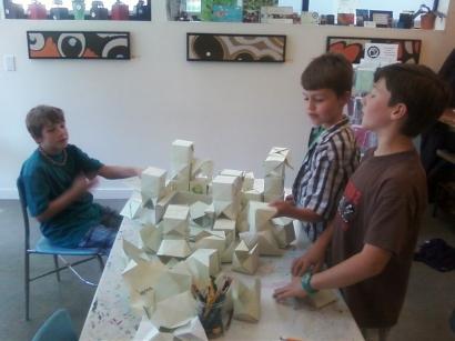 Origami Castle