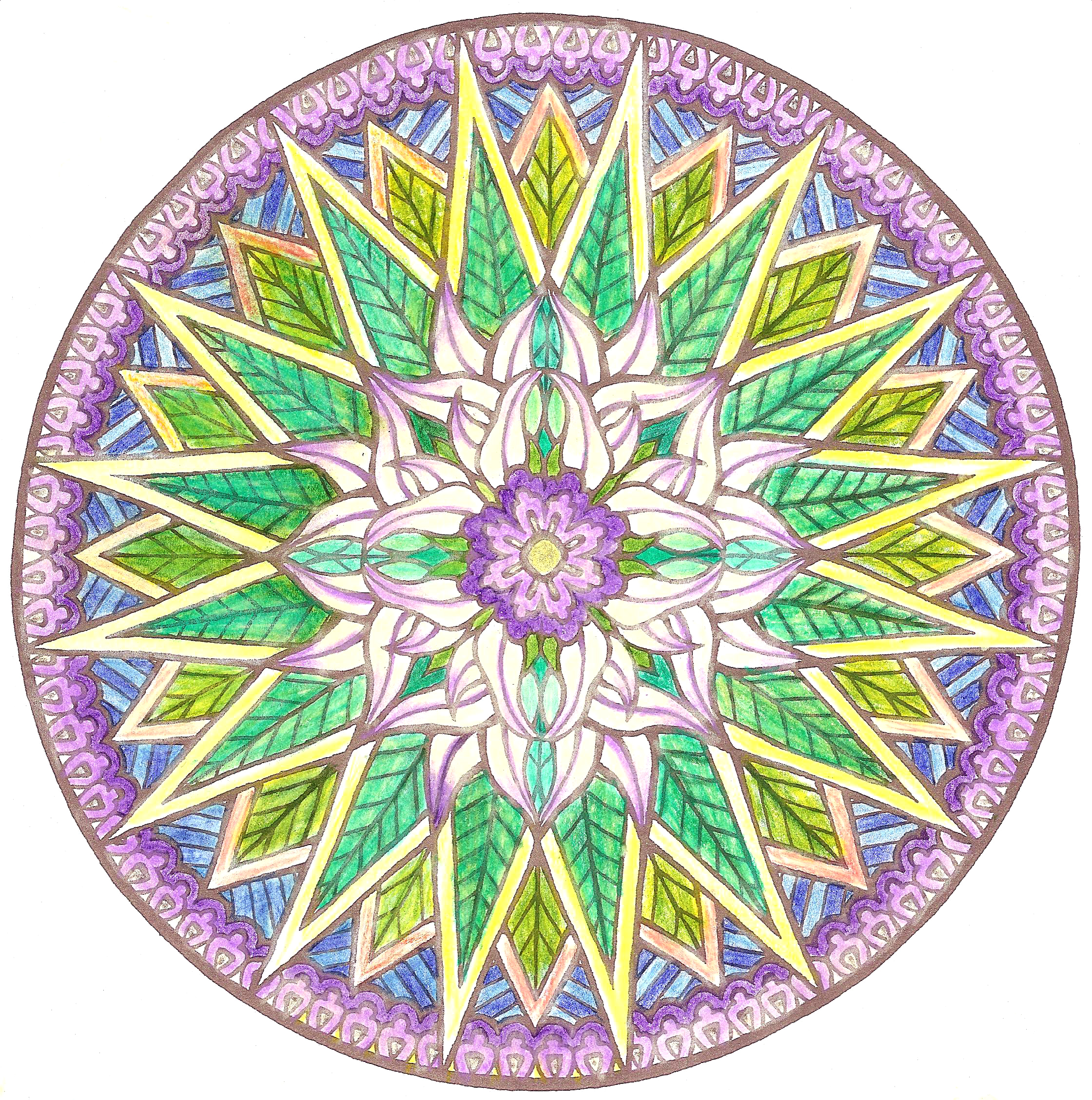 how to make your own mandala