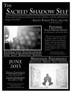 June 2013 Exhibit Poster