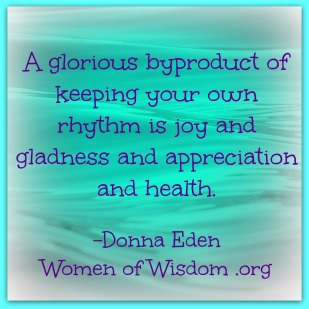 Donna Eden health quote