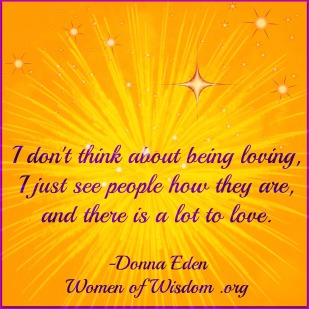 Donna Eden love quote